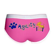 Agility Bumper Sticker Women's Boy Brief