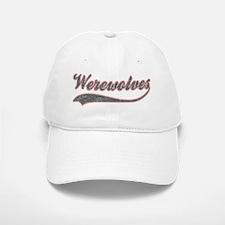 2-Werewolves-light Baseball Baseball Cap