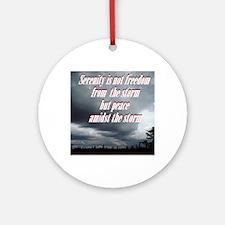 serenity-storm Round Ornament