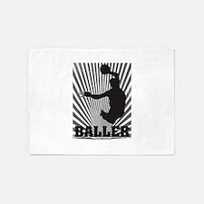 Baller 5'x7'Area Rug