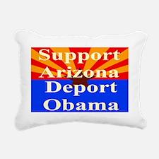 Arizona Deport Obama Yar Rectangular Canvas Pillow