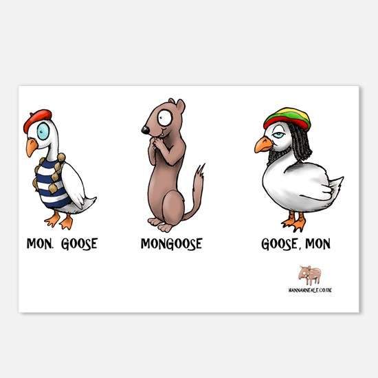 goose Postcards (Package of 8)