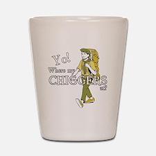 Chiggers2 Shot Glass