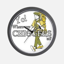 Chiggers2 Wall Clock