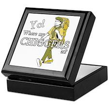 Chiggers2 Keepsake Box