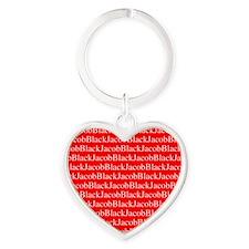 JacobBlack Heart Keychain