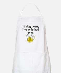 In Dog Beers Apron