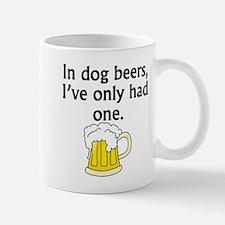 In Dog Beers Mugs