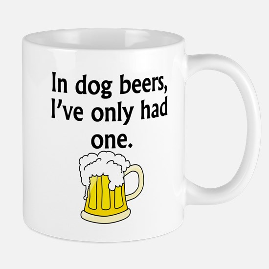 In Dog Beers Mugs