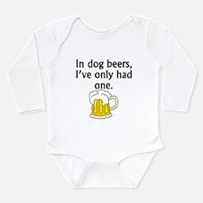 In Dog Beers Body Suit