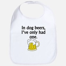 In Dog Beers Bib