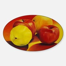 APPLES and ORANGES Decal