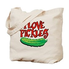 i-love-pickles Tote Bag