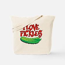 i-love-pickles Tote Bag