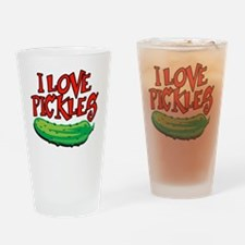 i-love-pickles Drinking Glass