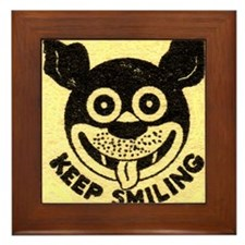 SMILE Framed Tile
