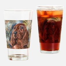 IrishSetterDrew Drinking Glass