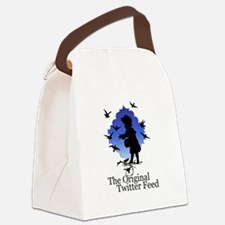 Original Twitter Canvas Lunch Bag