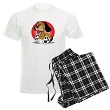 Autism-Dog-blk Pajamas