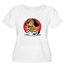 Autism-Dog-bl T-Shirt