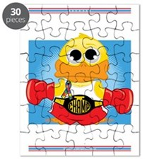 Knock-Out-Autism-BLK Puzzle