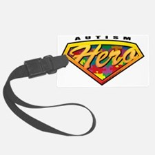 Autism-SuperHero Luggage Tag