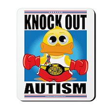 Knock-Out-Autism Mousepad