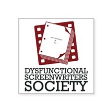 "new-DSS-logo-VERTICAL Square Sticker 3"" x 3"""