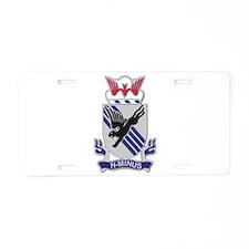 DUI - 3rd Brigade Combat Team Aluminum License Pla