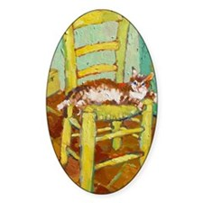 Vincent in Chair Decal