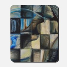 CHECKERED PAINTING 16x20 Mousepad