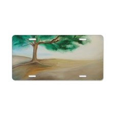 11x17 Poster of PEACEFUL TR Aluminum License Plate