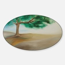 11x17 Poster of PEACEFUL TREE #1 Decal