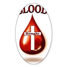 Blood Bought. Decal