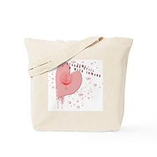 New moon Edward  Tote Bag