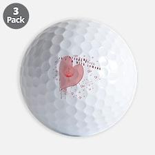 New moon Edward  Golf Ball