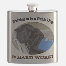 Training to be a Guide Dog Flask