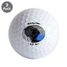 Training to be a Guide Dog Golf Ball