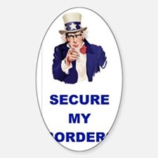 3-SECURE MY BORDERS Decal