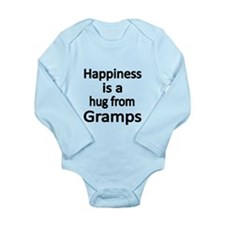 Happiness is a hug from Gramps Body Suit