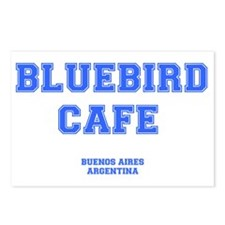 BLUEBIRD CAFE - BUENOS AI Postcards (Package of 8)
