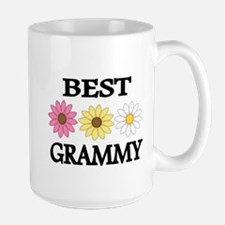 BEST GRAMMY WITH FLOWERS Mugs