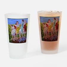 womestomp2 Drinking Glass