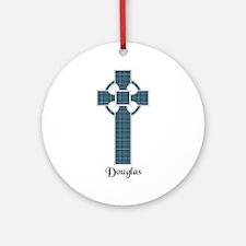 Cross - Douglas Ornament (Round)