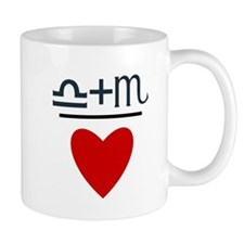 Libra + Scorpio = Love Mug