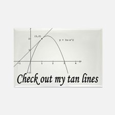 2-my tan lines Rectangle Magnet