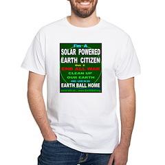 Solar Powered Earth Citizen Shirt
