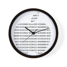 Apple Binary Large Wall Clock