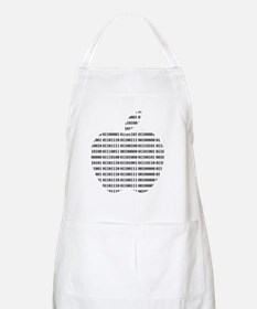 Apple Binary Large Apron