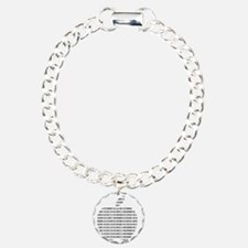 Apple Binary Large Bracelet